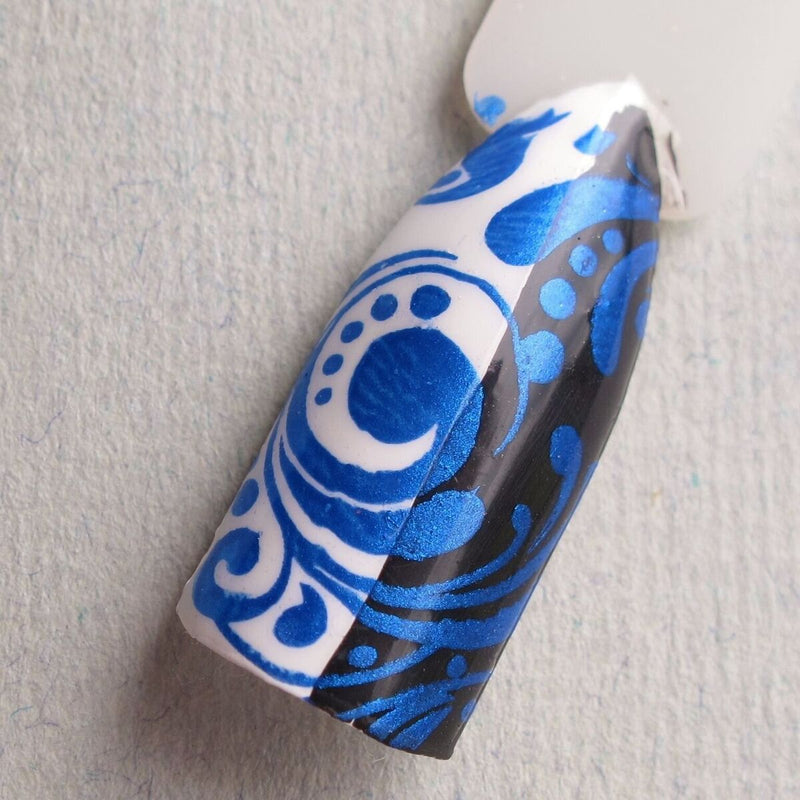 Hit The Bottle stamping polish - A bolt from the Blue (9ml)