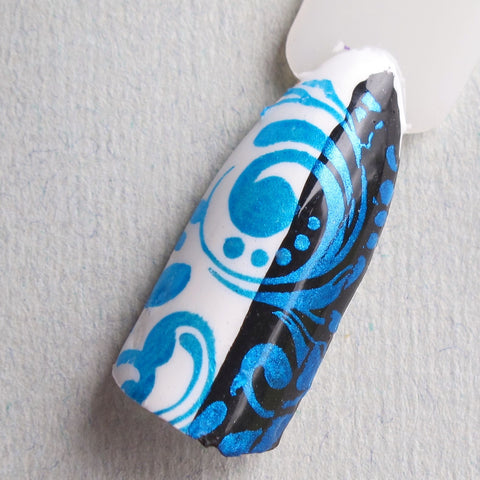 Hit The Bottle stamping polish - Blue-tiful (9ml)