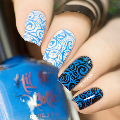 Hit The Bottle stamping polish - Blutonium (9ml)