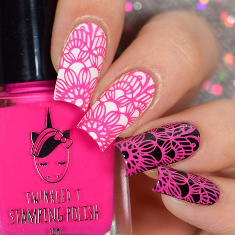 Twinkled T - stamping polish - Bothered