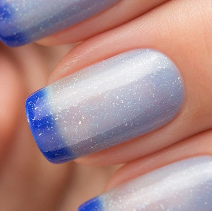 Bow Polish - Conversion - Thermo Top Coat Blue