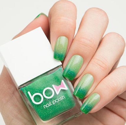 Bow Polish - Conversion - Thermo Top Coat Green