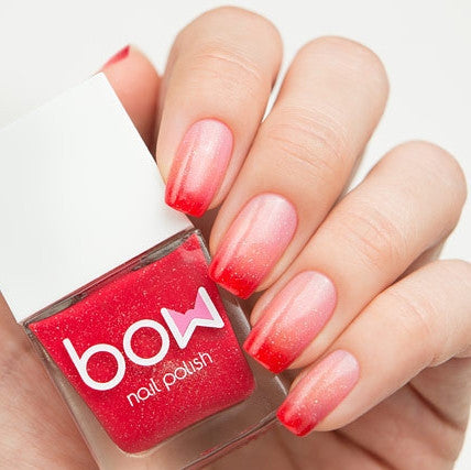 Bow Polish - Conversion - Thermo Top Coat Red