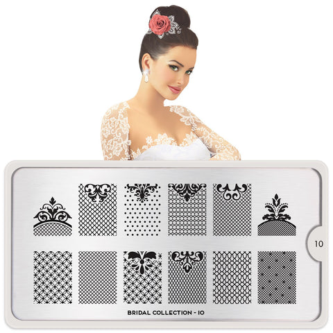 MoYou London Bridal 10 stamping plate