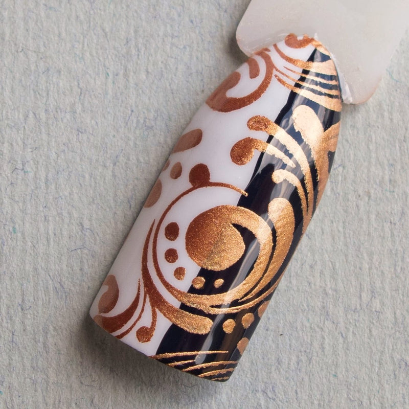 Hit The Bottle stamping polish - Bronzed Aussie (9ml)