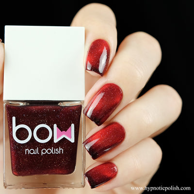 Bow Polish - Spring 2019 - Burn it Down (Magnetic Thermal)