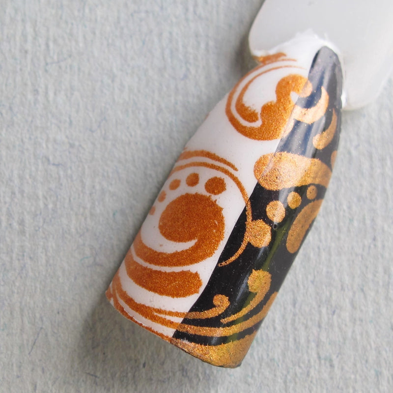 Hit The Bottle stamping polish - Burnt Orange (9ml)
