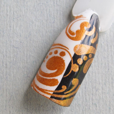 Hit The Bottle stamping polish - Burnt Orange (5ml)