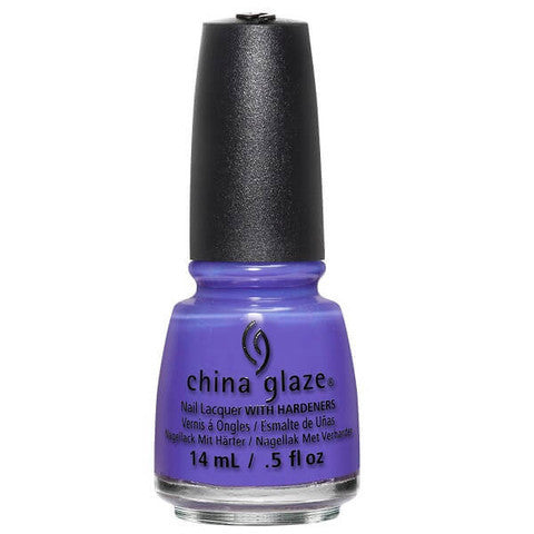 China Glaze - Lite Brites - I Got A Blue Attitude
