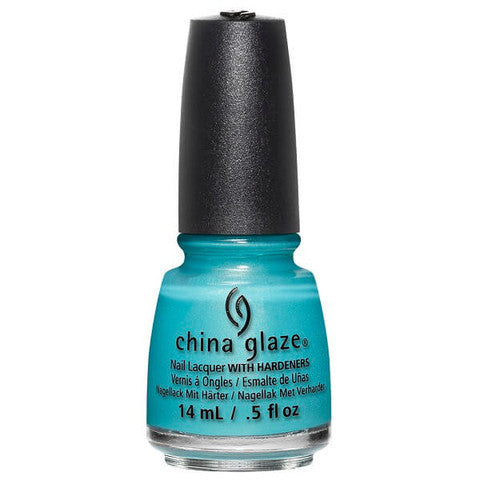 China Glaze - Lite Brites - What I Like About Blue