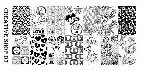 Creative Shop 07 stamping plate