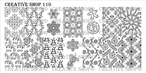 Creative Shop 110 stamping plate