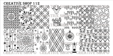 Creative Shop 112 stamping plate