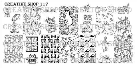 Creative Shop 117 stamping plate