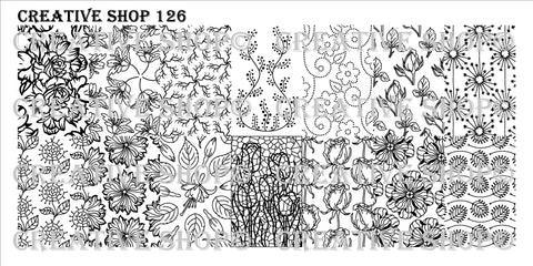 Creative Shop 126 stamping plate