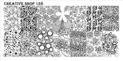 Creative Shop 128 stamping plate