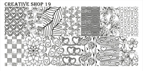 Creative Shop 19 stamping plate