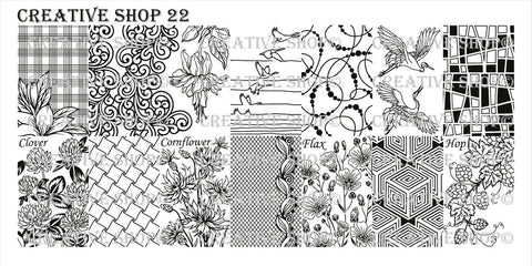 Creative Shop 22 stamping plate