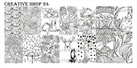 Creative Shop 24 stamping plate