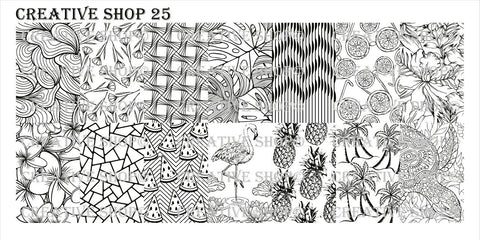 Creative Shop 25 stamping plate