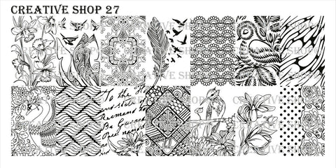 Creative Shop 27 stamping plate