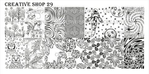 Creative Shop 29 stamping plate
