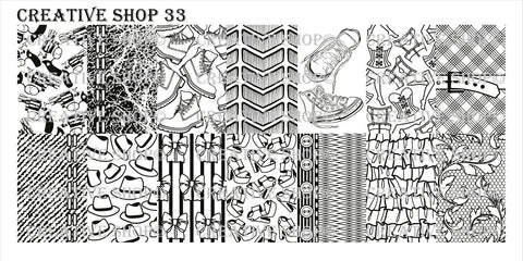 Creative Shop 33 stamping plate