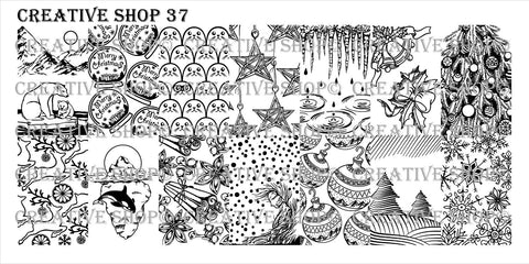 Creative Shop 37 stamping plate