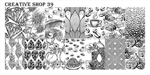 Creative Shop 39 stamping plate