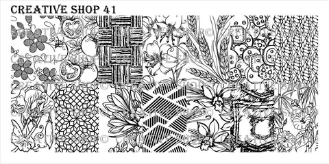 Creative Shop 41 stamping plate