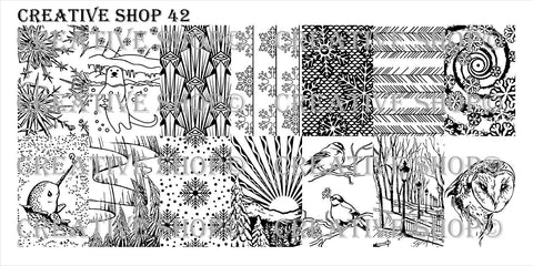 Creative Shop 42 stamping plate