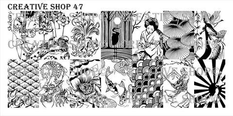 Creative Shop 47 stamping plate