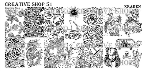 Creative Shop 51 stamping plate