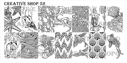 Creative Shop 52 stamping plate
