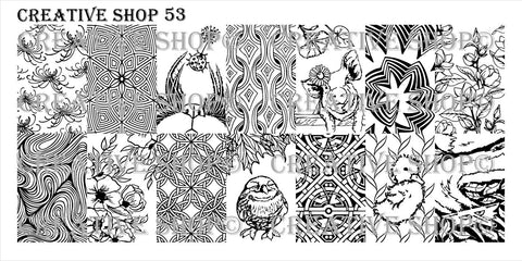 Creative Shop 53 stamping plate