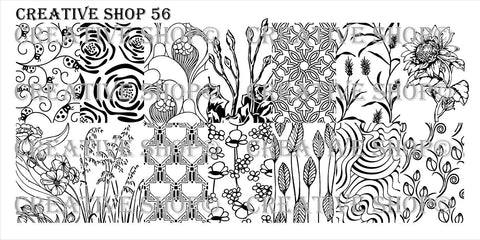 Creative Shop 56 stamping plate