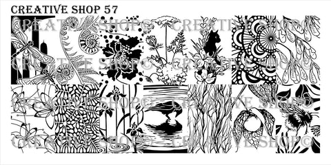 Creative Shop 57 stamping plate
