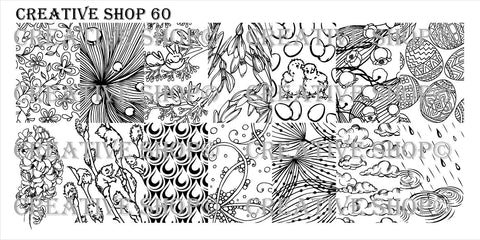 Creative Shop 60 stamping plate
