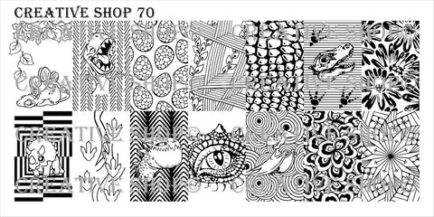 Creative Shop 70 stamping plate