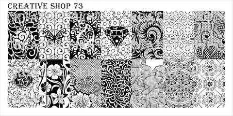 Creative Shop 73 stamping plate