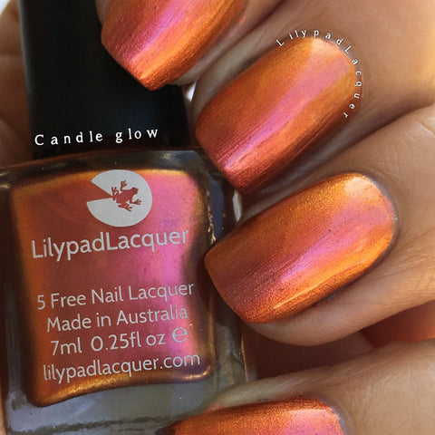 Lilypad Lacquer - Candle Glow (15ml)