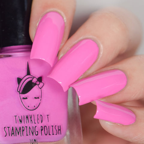 Twinkled T - stamping polish - Can't Even