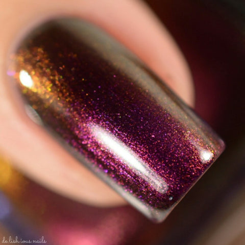 Colors by Llarowe - Fool's Gold - CbL Polish of the Month December 2016
