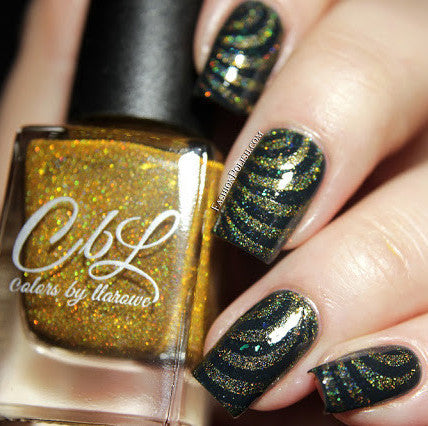 Colors by Llarowe - Stamping Polish - Golden Rule