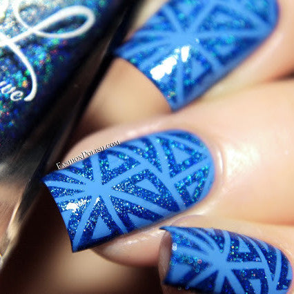 Colors by Llarowe - Stamping Polish - Royalty