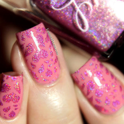 Colors by Llarowe - Stamping Polish - Pink Lady