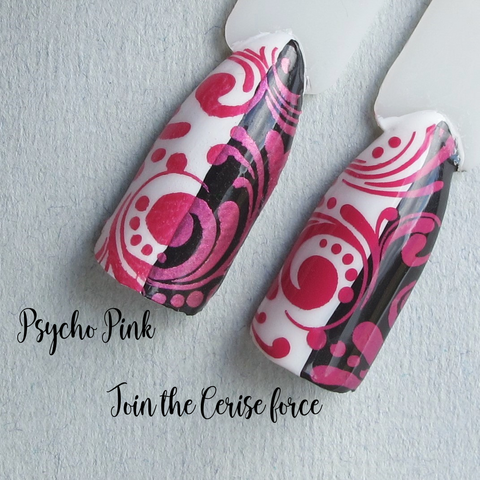 Hit The Bottle stamping polish - Join the Cerise Force (5ml)