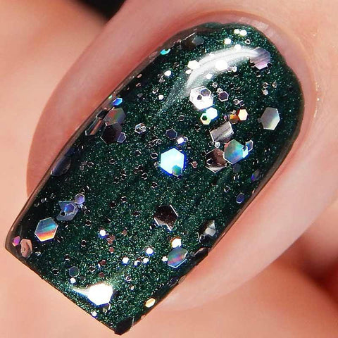 China Glaze - Glam Finale - Disco Ball Drop