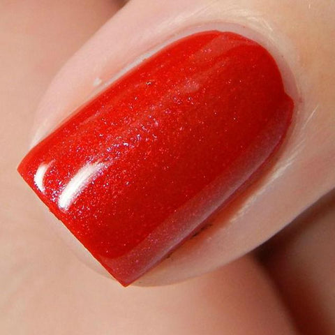 China Glaze - Rebel - Y'all Red-y For This?