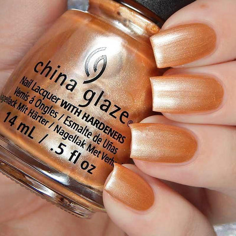 China Glaze - Glam Finale - Toast It Up!